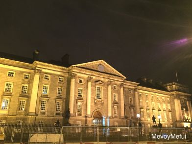 Trinity College. In the student handbook it actually says that if someone comes after 11pm with his flock of sheep, he must be let in to let the sheep graze.