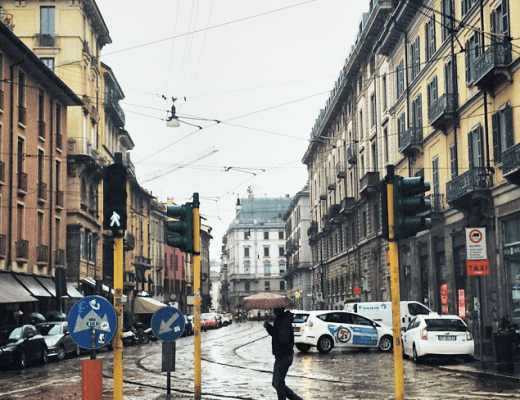 Streets of Milan, Italy