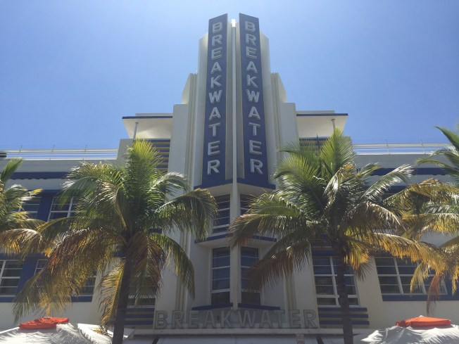 Art Deco Building South Beach Miami
