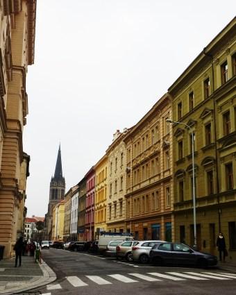 Vlkova Palace Prague Czech Republic