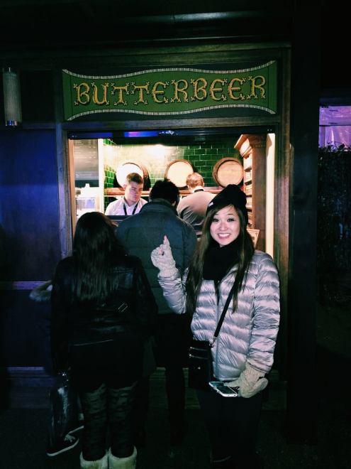 Harry Potter Butterbeer Studio Tour London