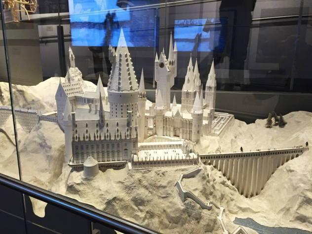 3D Model Hogwarts Harry Potter Studio Tour