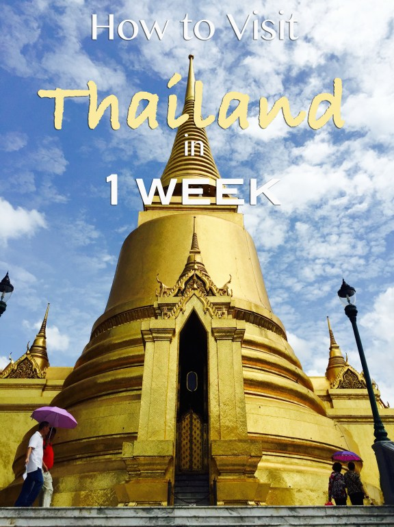 Thailand Week Thai Fashion Food And Fun: How To Visit Thailand In One Week