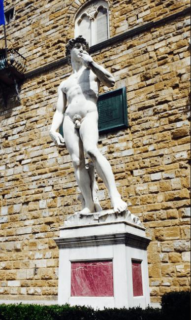 Fake Statue of David
