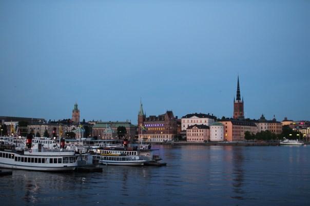 Stockholm at 11 PM