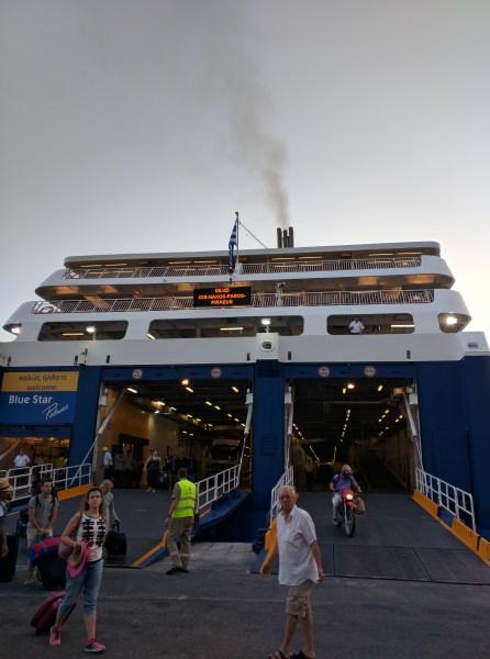 ferry greece