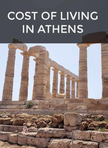cost of living in Athens