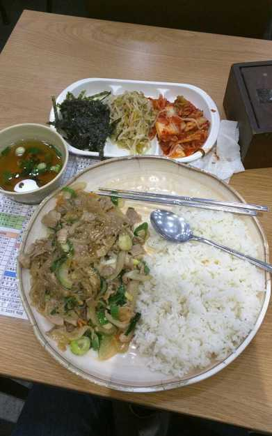 japchae south korea spending report