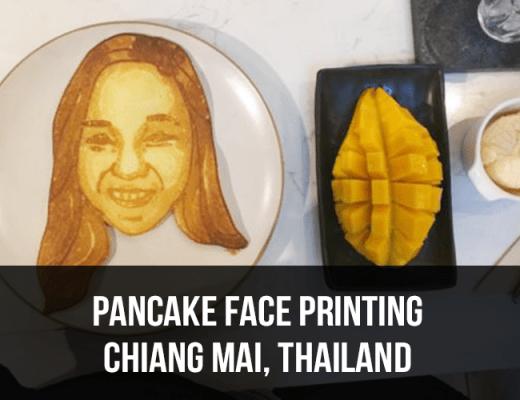 pancake face printing