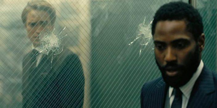 La escena de la cámara acorazada en Tenet de Christopher Nolan