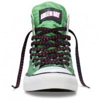 """Checa los nuevos Converse edición especial """"Green Day: ¡Uno!"""""""