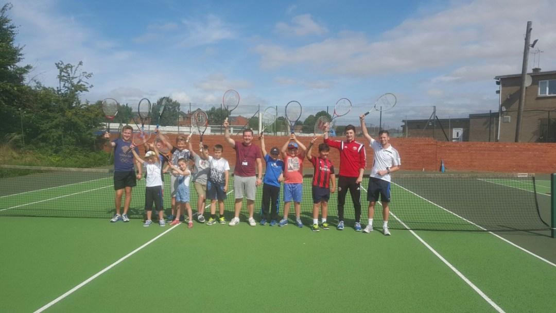 Mexborough Tennis Club Summer Camp 2015