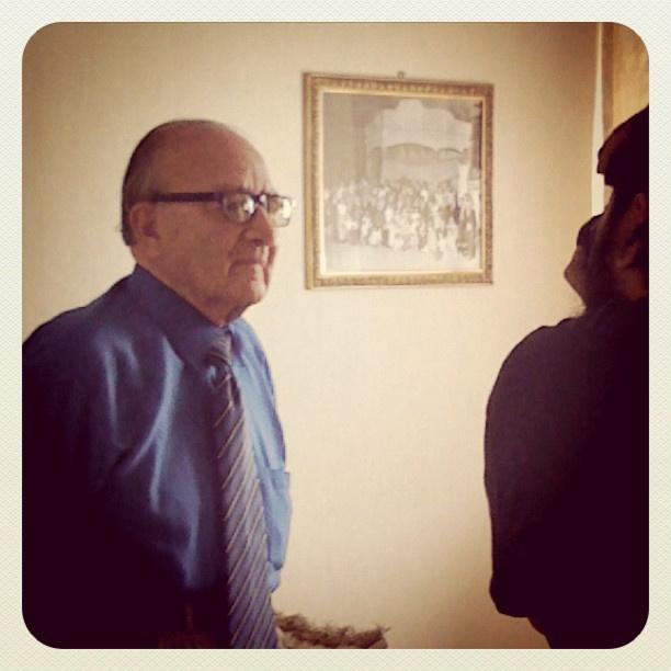Rafael Marquez, creador del Libro Vaquero. Imagen tomada de @El_LibroVaquero