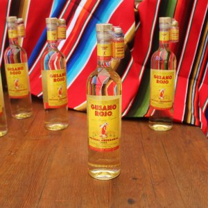 Mezcal Gusano Rojo 750ml (with worm)