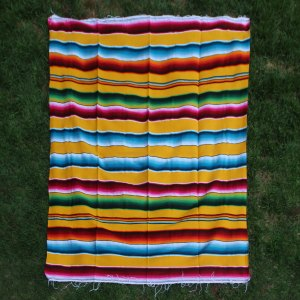 Yellow Cotton Serape