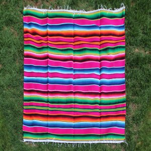 Pink Cotton Serape
