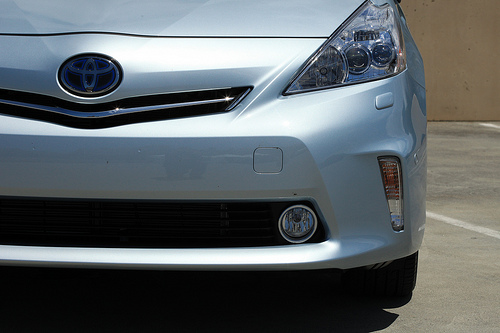 Toyota's new Prius V Hybrid car by Robert Scoble