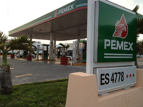 Photo credit: When in Mexico, you can't beat Pemex gas by diaper