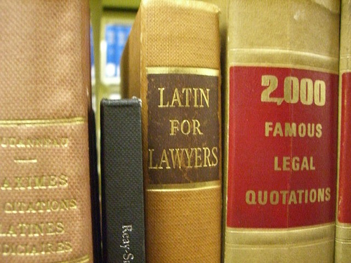"Latin for Lawyers; ""2000 Famous Legal Quotations"" by umjanedoan"