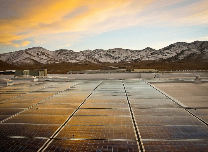 Black Rock Solar photovoltaic array at Food Bank of Northern Nevada by Black Rock Solar