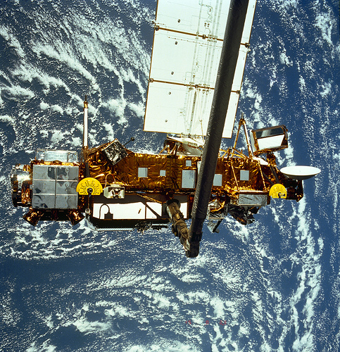 NASA's Upper Atmosphere Research Satellite, or UARS, is expected to re-enter Earth's atmosphere late September by NASA Goddard Space Flight Center