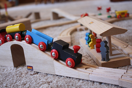 Brio Train Set (#7364) by regan76