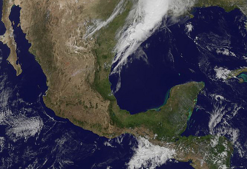 Satellite Sees Earthquake Region in Southwestern Mexico by NASA Goddard Space Flight Center