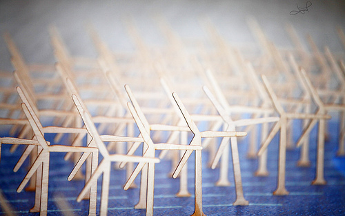 Model Wind Turbine Farm, Copenhagen, Denmark by tsaiproject