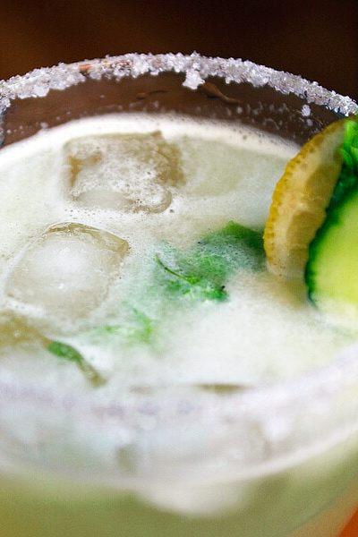 Agua de Pepino ~ Cucumber cooler