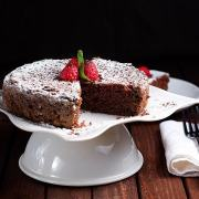Pastel de Chocolate Mexicano or Mexican Chocolate Cake
