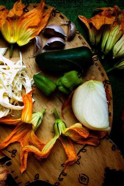 Zucchini Blossom Quesadillas | Quesadillas de flor de calabaza
