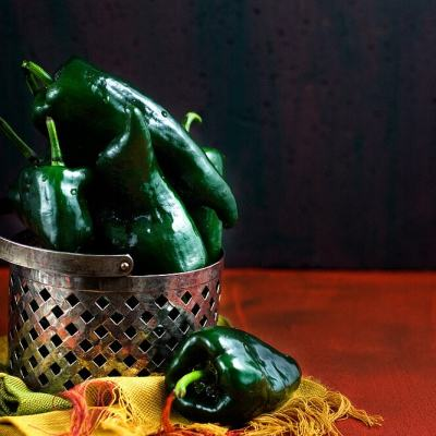 How to Roast Poblano Peppers Over an Open Flame
