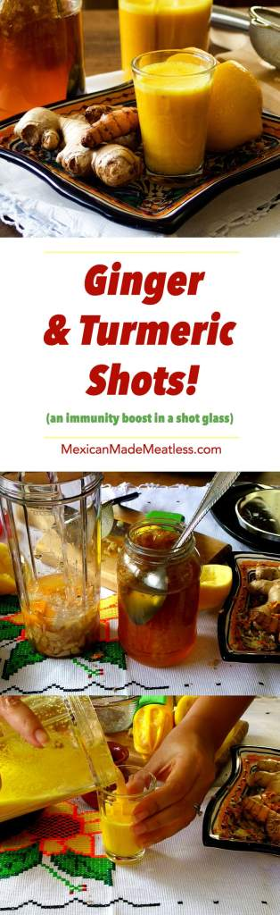 How to Make Ginger and Turmeric Shots