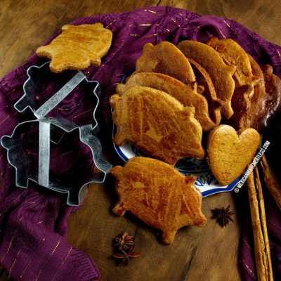 Puerquitos: Mexican Piloncillo Spiced Cookies | #vegan Mexican cookies