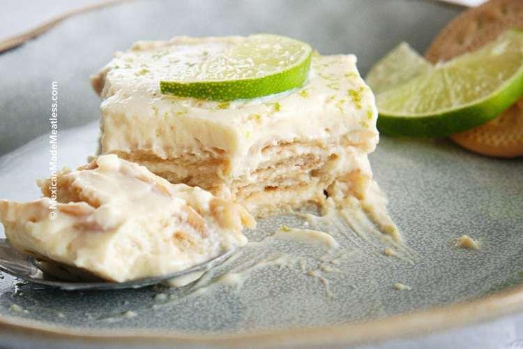 Carlota de Limón (Mexican Lime Icebox Cake)