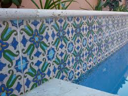 mexican pool tile mexican tile designs
