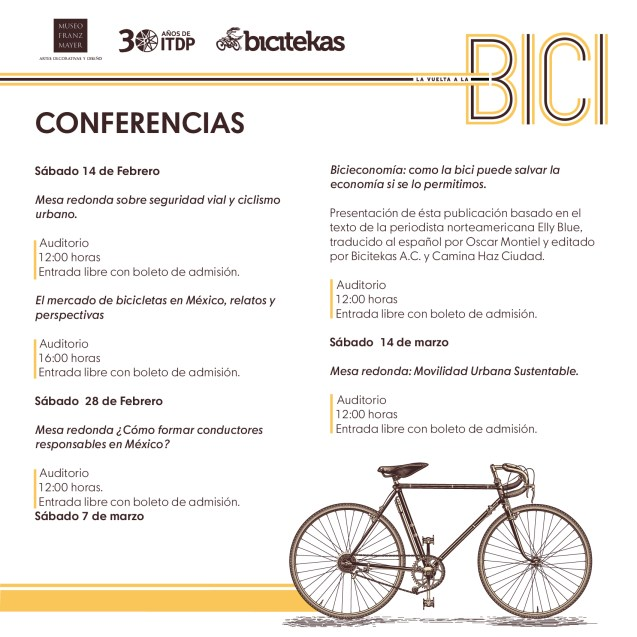 CONFERENCIAS-BICIS