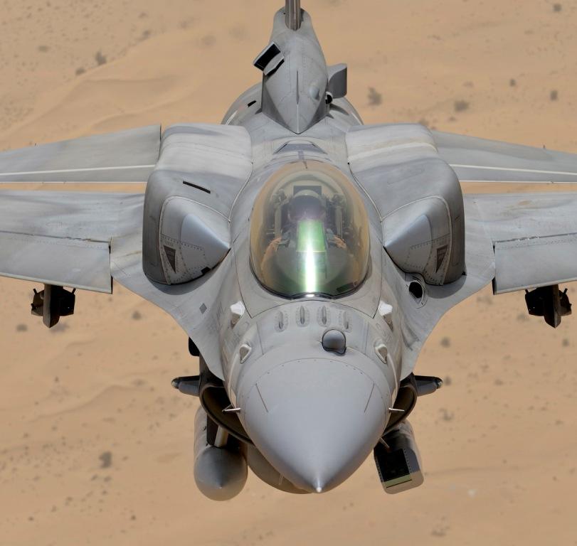F-16E Desert Falcon