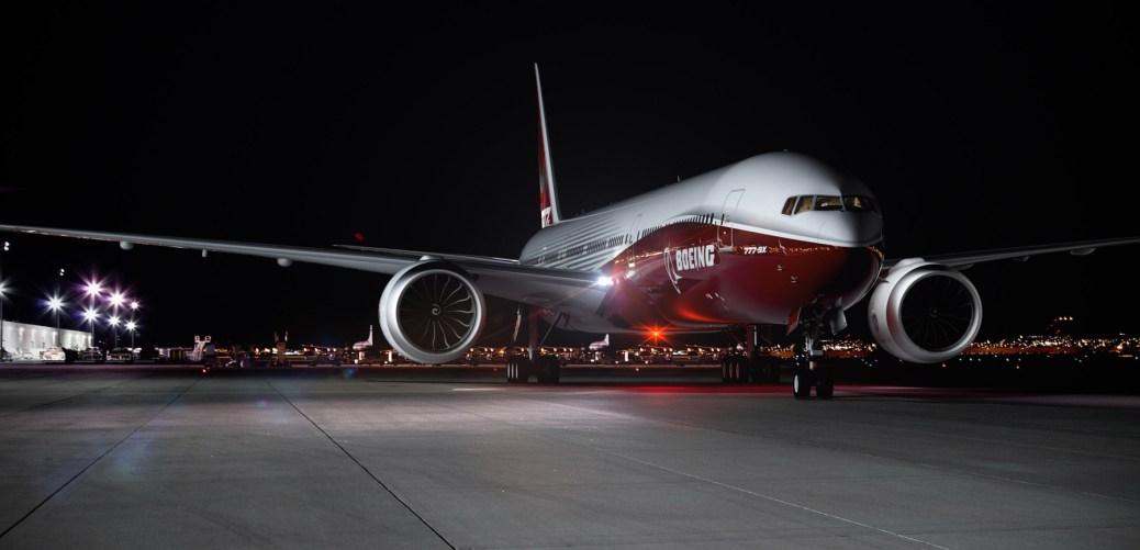 Boeing 777-9X Artwork K66012-07