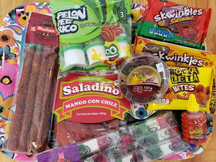 collection of Mexican candies