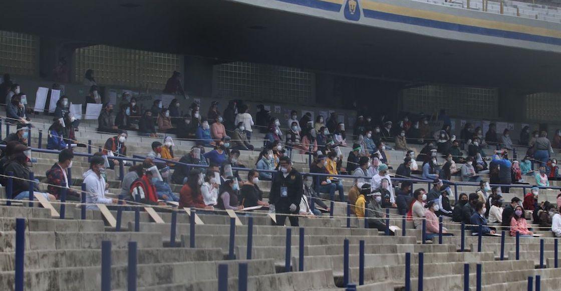 UNAM aspirantes licenciatura examen estadio 1