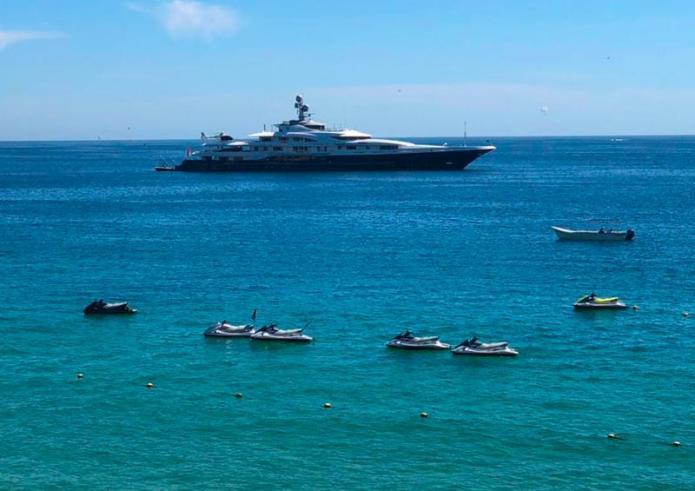 Mega Yachts keep arriving in Cabo San Lucas