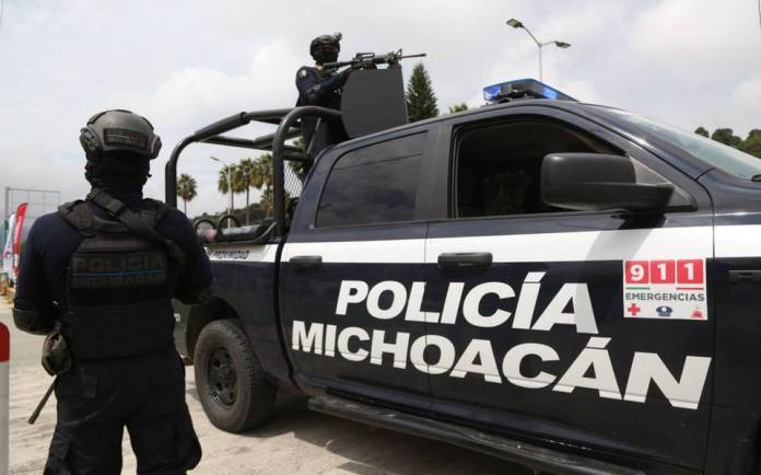 Police brutality case caught on video in Michoacan  (VIDEO)