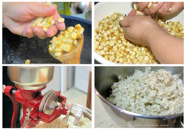 Cómo hacer masa de maíz nixtamalizado