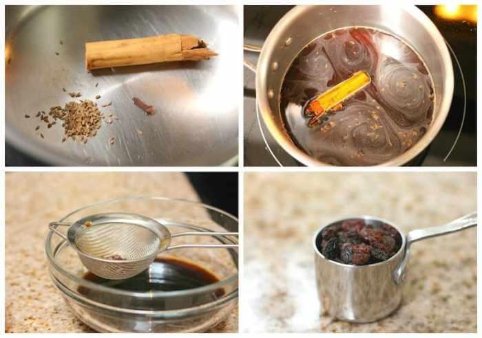 Caballeros Pobres, instrucciones de la receta del jarabe de piloncillo.