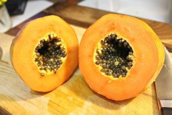 Agua de papaya, deliciosa
