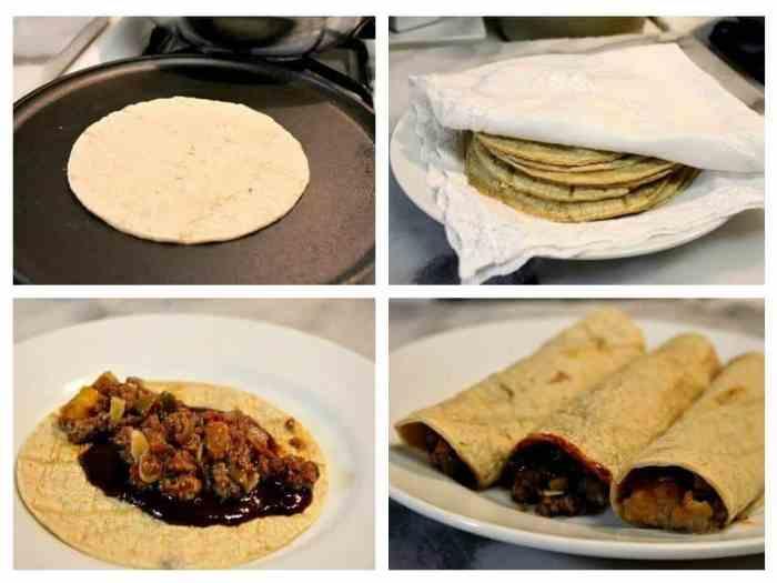 Enchiladas Tabasqueñas