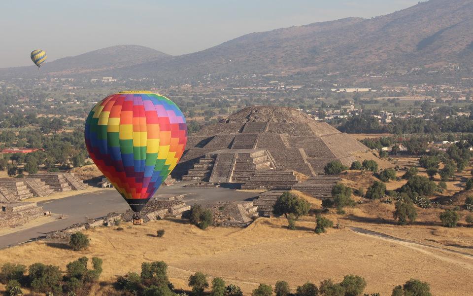 Aztec Pyramids Mexico City