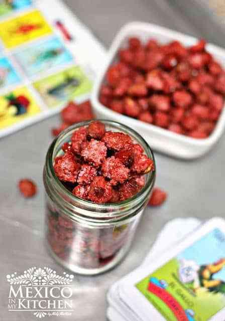 garapiñados Candied peanuts recipe