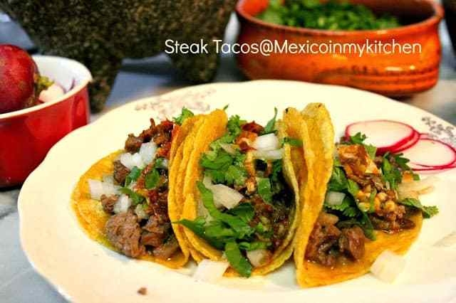 Mexican Steak Tacos C Mo Hacer Tacos De Bistec Mexico In My Kitchen